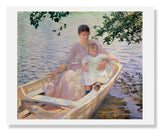 Edmund Charles Tarbell, Mother and Child in a Boat