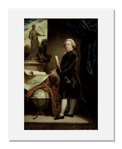 MFA Prints archival replica print of After: John Singleton Copley, John Adams from the Museum of Fine Arts, Boston collection.