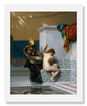 MFA Prints archival replica print of Jean Léon Gérôme, Moorish Bath from the Museum of Fine Arts, Boston collection.