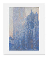 Claude Monet, Rouen Cathedral Façade and Tour d'Albane (Morning Effect)