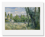 MFA Prints archival replica print of Camille Pissarro, Sunlight on the Road, Pontoise from the Museum of Fine Arts, Boston collection.