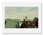 Edgar Degas, At the Races in the Countryside