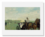 MFA Prints archival replica print of Edgar Degas, At the Races in the Countryside from the Museum of Fine Arts, Boston collection.