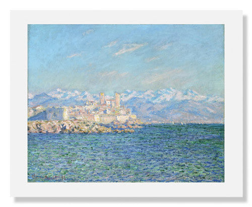 Claude Monet, Antibes, Afternoon Effect