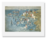 MFA Prints archival replica print of Maurice Brazil Prendergast, Bathing, Marblehead from the Museum of Fine Arts, Boston collection.