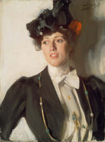 Anders Leonard Zorn, Martha Dana (later Mrs. William Mercer)