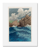 Kawase Hasui, Hachinohe-Same, from the series Collected Views of Japan, Eastern Japan Edition