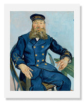 MFA Prints archival replica print of Vincent van Gogh, Postman Joseph Roulin from the Museum of Fine Arts, Boston collection.