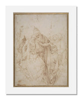 MFA Prints archival replica print of Albrecht Dürer, The Trinity from the Museum of Fine Arts, Boston collection.