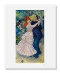 MFA Prints archival replica print of Pierre Auguste Renoir, Dance at Bougival from the Museum of Fine Arts, Boston collection.