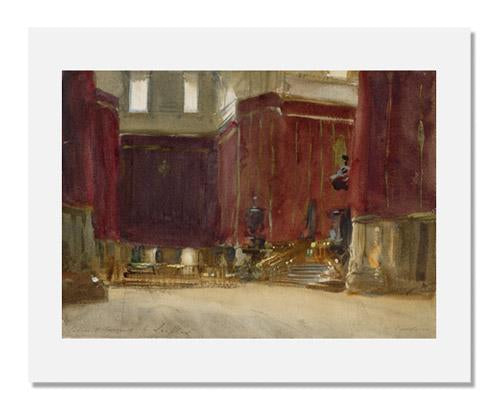 John Singer Sargent, Cordova: Interior of the Cathedral