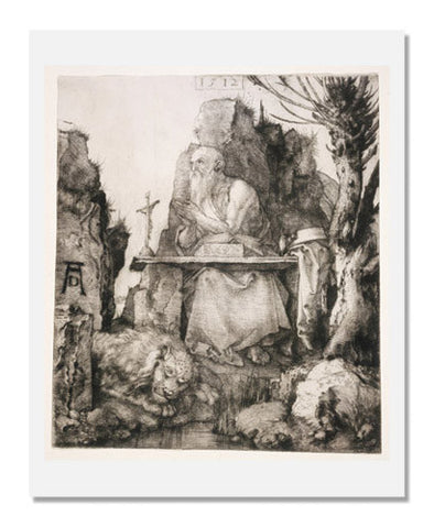 Albrecht Dürer, Saint Jerome by the Pollard Willow