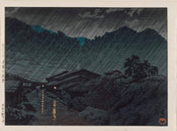 Kawase Hasui, Suhara, Kiso, from the series Selected Views of Japan