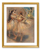 MFA Prints archival replica print of Edgar Degas, Two Dancers in the Wings from the Museum of Fine Arts, Boston collection.