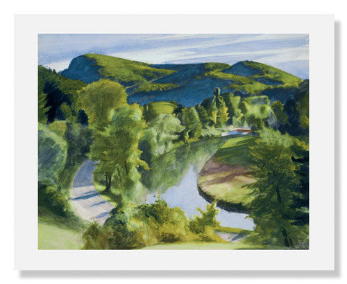 Edward Hopper, First Branch of the White River, Vermont