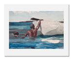 MFA Prints archival replica print of Winslow Homer, The Sponge Diver from the Museum of Fine Arts, Boston collection.