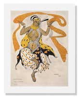MFA Prints archival replica print of Léon Nikolaievitch Bakst, Hindu Ballet from the Museum of Fine Arts, Boston collection.