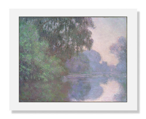 Claude Monet, Morning on the Seine, near Giverny