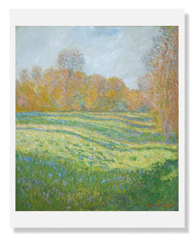 Claude Monet, Meadow at Giverny