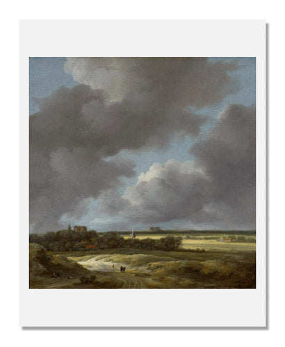 MFA Prints archival replica print of Jacob Isaacksz. van Ruisdael, View of Alkmaar from the Museum of Fine Arts, Boston collection.