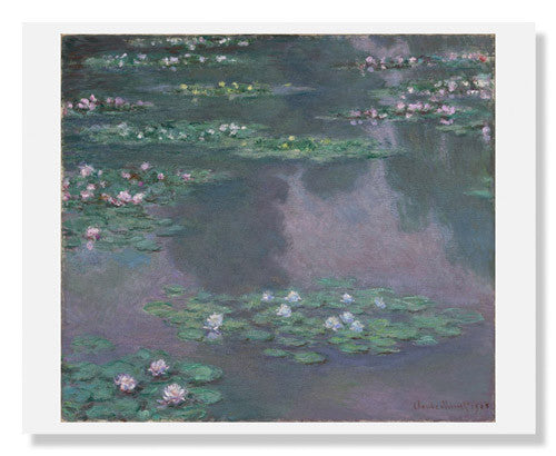 MFA Prints archival replica print of Water Lilies by Claude Monet from the Museum of Fine Arts, Boston collection.