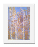 MFA Prints archival replica print of Claude Monet, Rouen Cathedral, Façade from the Museum of Fine Arts, Boston collection.
