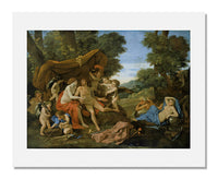 MFA Prints archival replica print of Nicolas Poussin, Mars and Venus from the Museum of Fine Arts, Boston collection.