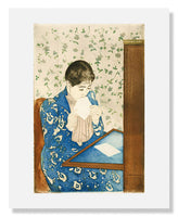 MFA Prints archival replica print of Mary Stevenson Cassatt , The Letter from the Museum of Fine Arts, Boston collection.