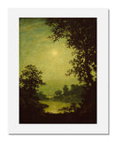 MFA Prints archival replica print of Ralph Albert Blakelock, Moonlight Sonata from the Museum of Fine Arts, Boston collection.
