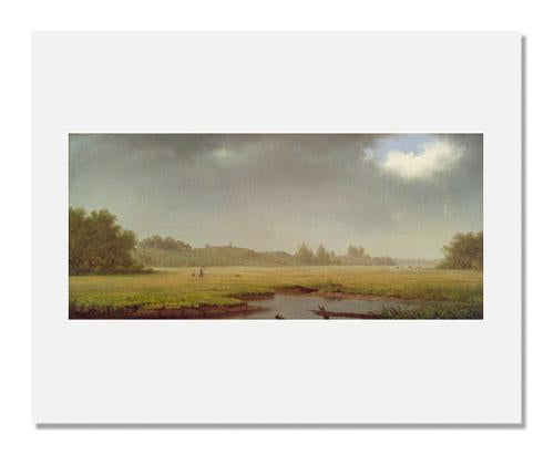 MFA Prints archival replica print of Martin Johnson Heade, Cloudy Day, Rhode Island from the Museum of Fine Arts, Boston collection.