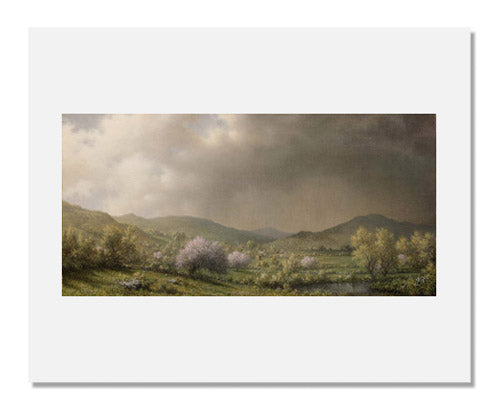 MFA Prints archival replica print of Martin Johnson Heade, April Showers from the Museum of Fine Arts, Boston collection.
