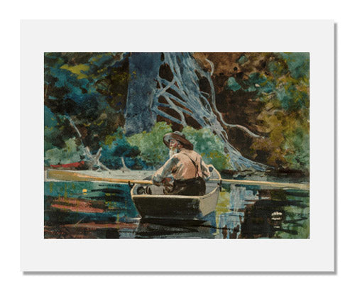 Winslow Homer, The Adirondack Guide
