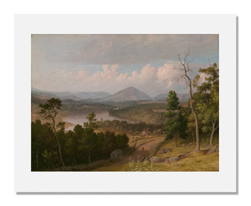 Thomas Doughty, View from Stacey Hill, Stoddard, New Hampshire