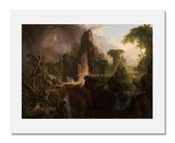 MFA Prints archival replica print of Thomas Cole, Expulsion from the Garden of Eden from the Museum of Fine Arts, Boston collection.