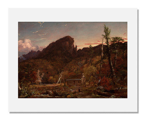 MFA Prints archival replica print of Jasper Francis Cropsey, Eagle Cliff, New Hampshire from the Museum of Fine Arts, Boston collection.