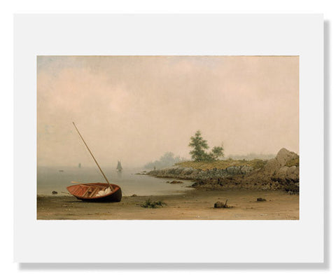 Martin Johnson Heade, The Stranded Boat