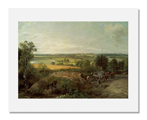 John Constable, Stour Valley and Dedham Church