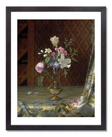 Martin Johnson Heade, Vase of Mixed Flowers