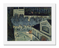 MFA Prints archival replica print of Pierre Bonnard, Paris Boulevard at Night from the Museum of Fine Arts, Boston collection.
