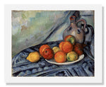 MFA Prints archival replica print of Paul Cézanne, Fruit and a Jug on a Table from the Museum of Fine Arts, Boston collection.