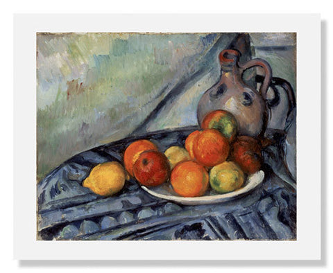 Paul Cézanne, Fruit and a Jug on a Table