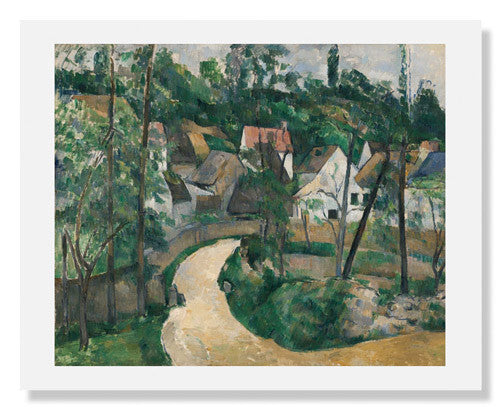 MFA Prints archival replica print of Paul Cézanne, Turn in the Road from the Museum of Fine Arts, Boston collection.