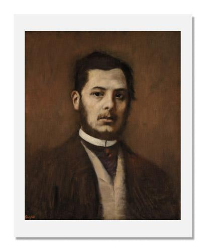 Edgar Degas, Portrait of a Man