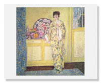 MFA Prints archival replica print of Frederick Carl Frieseke, The Yellow Room from the Museum of Fine Arts, Boston collection.