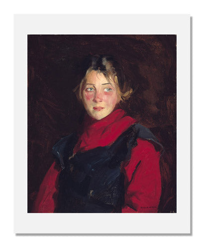 Robert Earle Henri, Irish Girl (Mary O'Donnel)