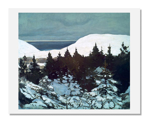 Rockwell Kent, Maine Coast, Winter