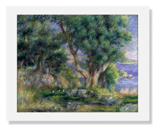 Pierre Auguste Renoir, Landscape on the Coast