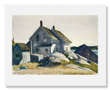 Edward Hopper, House at the Fort, Gloucester