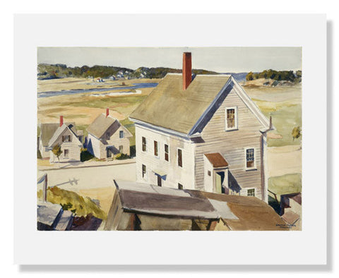 Edward Hopper, House by 'Squam River, Gloucester
