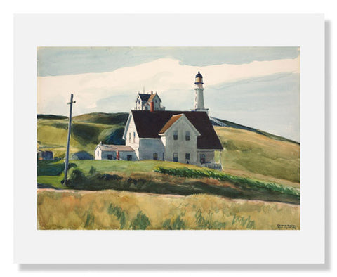 Edward Hopper, Hill and Houses, Cape Elizabeth, Maine